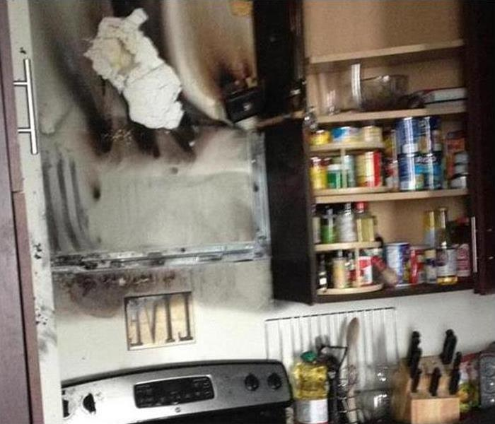 Fire Damage – Silt Kitchen Before